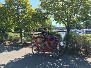 トロントアイランド 自転車