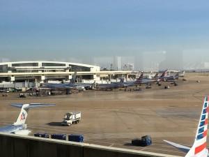 ダラス空港1