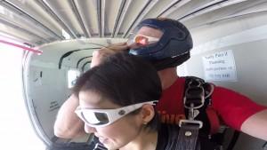 メキシコ スカイダイビング