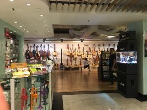 マレーシア 楽器店